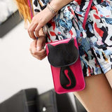 Kawaii Cat Soft Leather Sling Purse