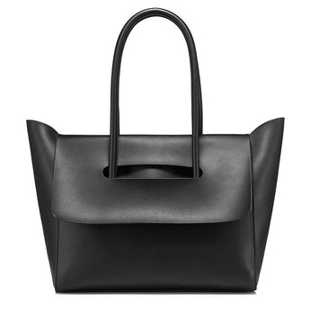Flap Closure Minimalist Handbag