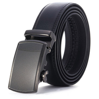 Sheen Leather Stainless Steel Belt