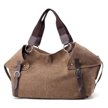 Tabitha™ Flap Baguette Canvas Bag