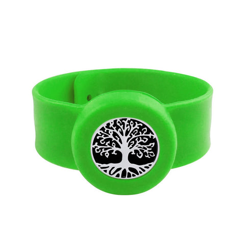SunnySentials™ Ancient Tree Essential Oil Diffuser Snap Strap Bracelet
