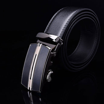 Horizon Leather Stainless Steel Belt