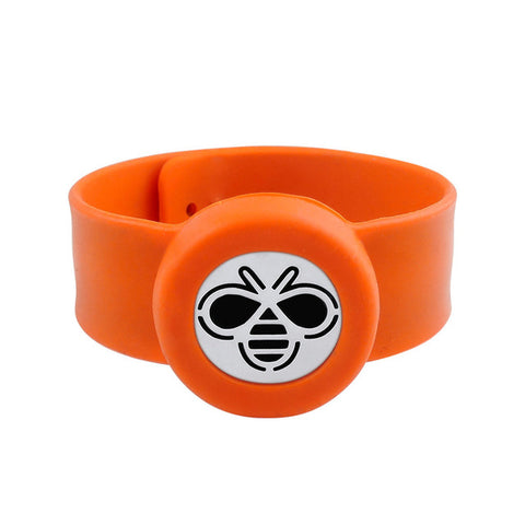 SunnySentials™ Bumble Bee Essential Oil Diffuser Snap Strap Bracelet