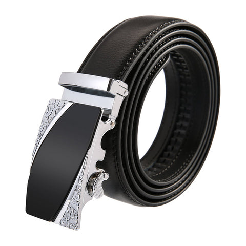 Aztec Leather Stainless Steel Belt