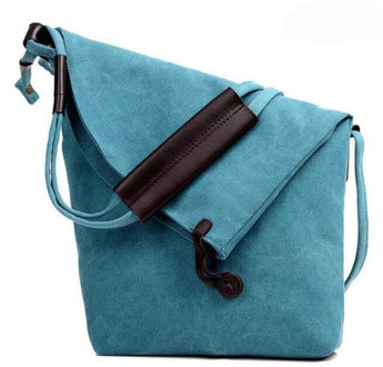 Tabitha™ Retro Hobo Canvas Bag