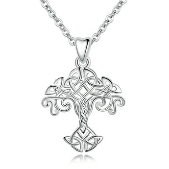 Asthōre™ Crann Bethadh Tree of Life Sterling Silver Necklace