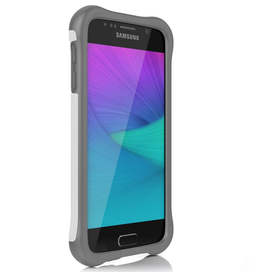 Ballistic Cell Phones & Accessories White/Grey Ballistic Urbanite Series Drop Test Certified Heavy Duty Protection Phone Case for Samsung Galaxy S6