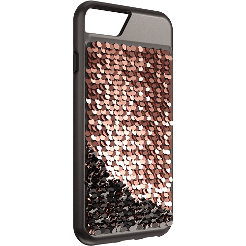 body glove fashion case for iphone 6 7 8 Body Glover Shimmer Bling Fashion Case For iPhone 6s 7 8 Rose Gold