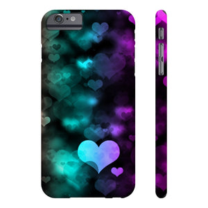 Case Mate for apple iphone case iPhone 6/6s Plus Slim Case Mate Ultra Slim Colorful Hearts Case For Apple iPhone 6 7 8 Plus iPhone X 10