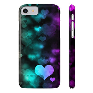 Case Mate for apple iphone case iPhone 7, iPhone 8 Slim Case Mate Ultra Slim Colorful Hearts Case For Apple iPhone 6 7 8 Plus iPhone X 10