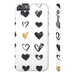 Case Mate IPhone Case for apple iPhone 6/6s Plus Slim Case Mate Ultra Slim Hard Shell Heart Case For Apple iPhone 6 7 8 Plus iPhone X 10