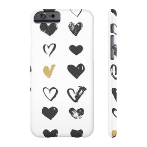Case Mate IPhone Case for apple iPhone 6/6S Slim Case Mate Ultra Slim Hard Shell Heart Case For Apple iPhone 6 7 8 Plus iPhone X 10