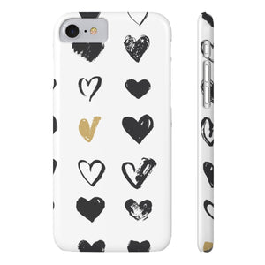 Case Mate IPhone Case for apple iPhone 7, iPhone 8 Slim Case Mate Ultra Slim Hard Shell Heart Case For Apple iPhone 6 7 8 Plus iPhone X 10