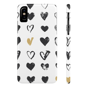 Case Mate IPhone Case for apple iPhone X Slim Case Mate Ultra Slim Hard Shell Heart Case For Apple iPhone 6 7 8 Plus iPhone X 10