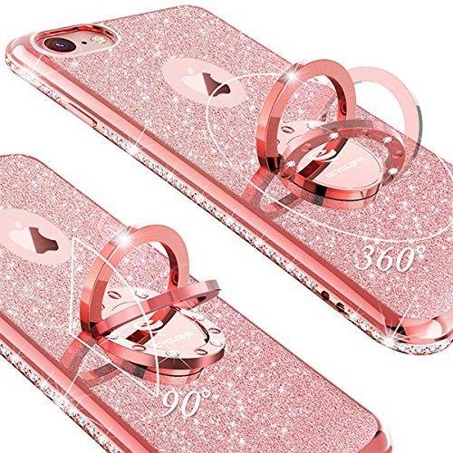 Cyclone Diamond Bling phone case for iphone 7 iPhone 8 Rose Gold Best Bling Diamond Fashion Phone Case For Apple iPhone 7 iPhone 8