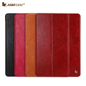 Fab-Case  Apple iPad Case Jisoncase PU Vegan Leather Smart Cover Auto Wake Tablet Cases for Apple iPad Pro 2017 10.5 inch