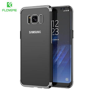 Fab-Case  black / S8 FLOVEME Fashion Case For Samsung Galaxy S8/S8 Plus Case Light Luxury 3D Plating Mobile Phone Case Cover