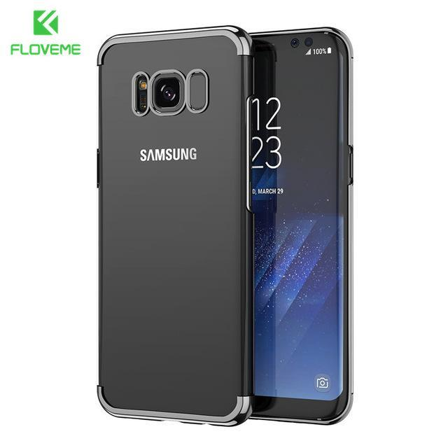 Fab-Case  FLOVEME Fashion Case For Samsung Galaxy S8/S8 Plus Case Light Luxury 3D Plating Mobile Phone Case Cover