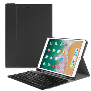 Fab-Case  Finitie BLACK Fintie iPad Pro 10.5 Keyboard Case with Built-in Apple Pencil Holder - SlimShell Protective