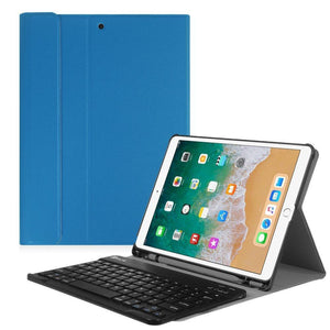 Fab-Case  Finitie Royal Blue Fintie iPad Pro 10.5 Keyboard Case with Built-in Apple Pencil Holder - SlimShell Protective