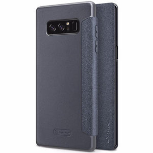 Fab-Case  Flip Case For Samsung Galaxy Note 8 Nillkin Sparkle Series Hard Plastic PU Leather Cover