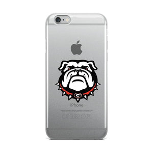Fab-Case  Georgia Bulldogs Phone Case iPhone 6 Plus/6s Plu Georgia Bulldogs Clear Back Phone Case for iPhone 6 7 8 Plus X