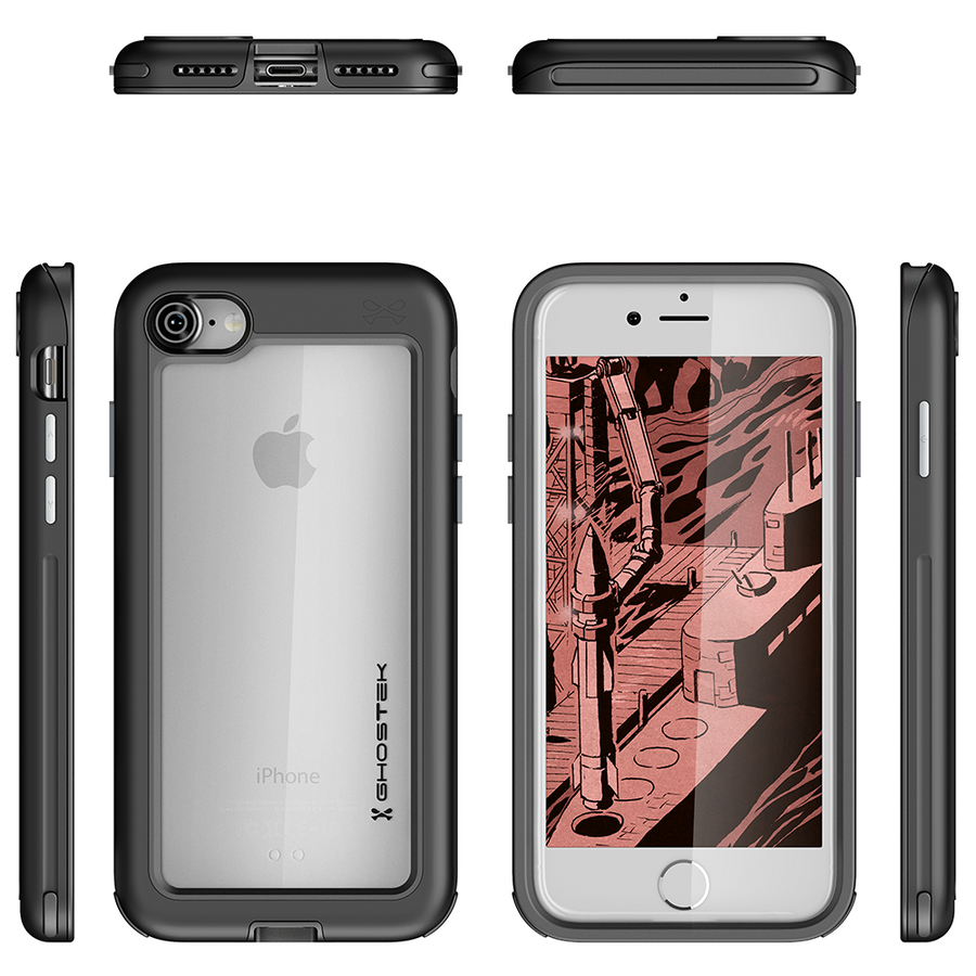 Ghostek Ghostek Armor case for iphone 7 8 Ghostek Atomic Slim Rugged Armor Drop impact Case Cover for iPhone 7 8
