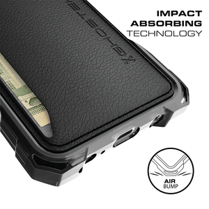 Fab-Case Ghostek Exec Series Wallet case for Samsung Galaxy S8 Plus Cover with screen protector