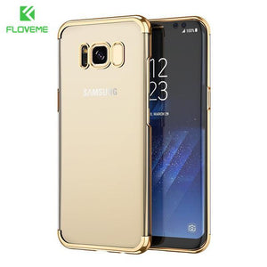 Fab-Case  gold / S8 FLOVEME Fashion Case For Samsung Galaxy S8/S8 Plus Case Light Luxury 3D Plating Mobile Phone Case Cover