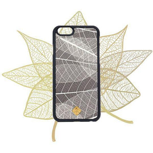 Fab-Case  iPhone 5/5S/SE / Black MMORE Organika Skeleton Leaves Phone case for iPhone & Galaxy