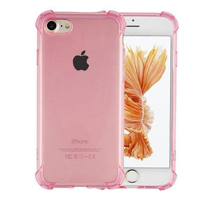 Fab-Case  IPHONE CASE Pink / For Iphone 6 6s Fab-Case transparent shockproof case for iPhone 6/6s plus  iPhone 7/7 Plus iPhone 8/8 Plus