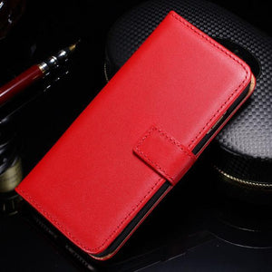 Fab-Case  IPHONE X Case Red Tomkas Leather credit card wallet Case for Apple iPhone X 10