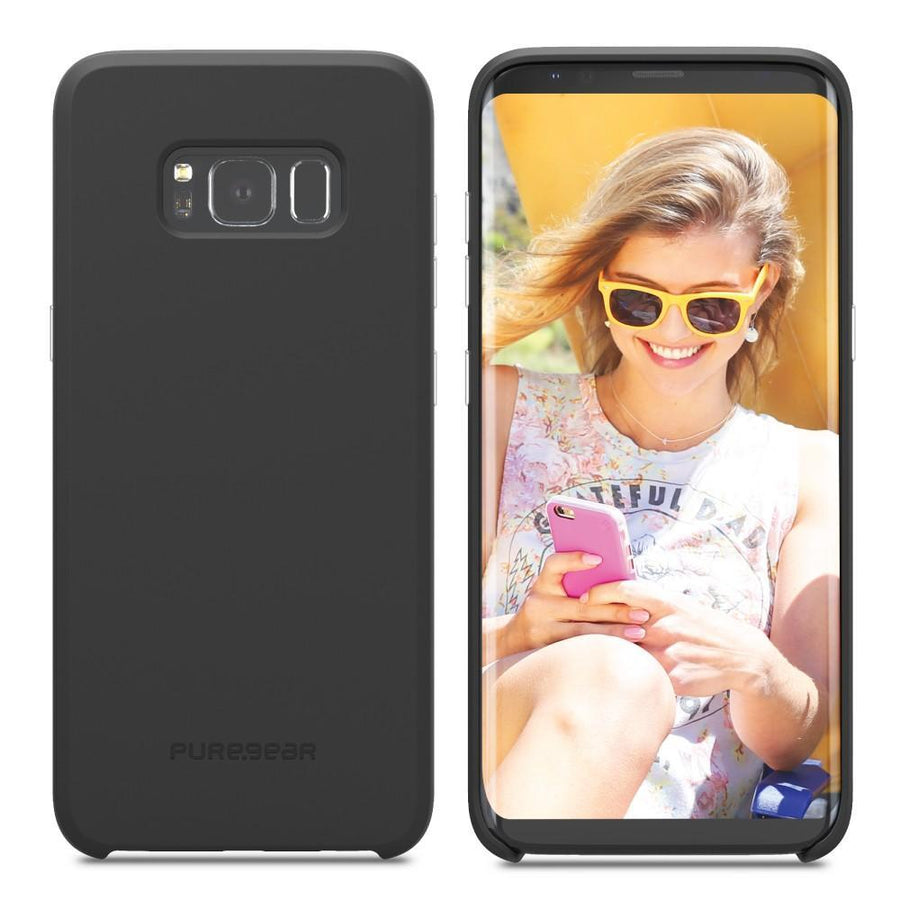 Fab-Case Phone Case PureGear Ultra Slim SoftTek Case for Samsung Galaxy S8