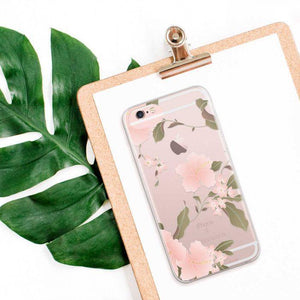 Fab Case Phone Case Flavr fashion Hibiscus Case For Apple iPhone 6/6s/7/8