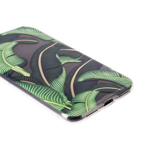 Fab Case PHONE CASE Flavr Ultra Slim Fashion Banana Leaves Case For Apple iPhone 6/6s/7/8