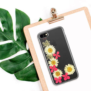 Fab Case PHONE CASE Flavr Ultra Slim Fashion Real Flower Ella Case For Apple iPhone 6/6s/7/8