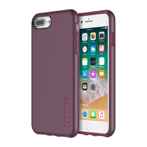 Fab-Case Phone Case Merlot INCIPIO DUALPRO Shock absorbing Case for Apple iPhone 7/8 Plus Cover
