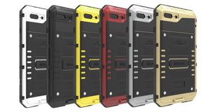 Fab-Case  Phone Case METAL ARMOR OUTDOOR DROP-PROOF WATERPROOF CASE FOR APPLE IPHONE 6//6S/7/8 & iPhone 6/6S/7/8 Plus