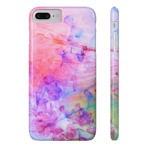 Fab-Case Phone Case RainBow Designer Marble Series Ultra Slim By Fab Case For Apple iPhone 7/8 Plus Cover