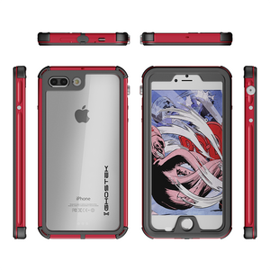 Fab-Case Phone Case Red Ghostek Atomic 3 Series Waterproof case for Apple iPhone 7/8 Plus Cover