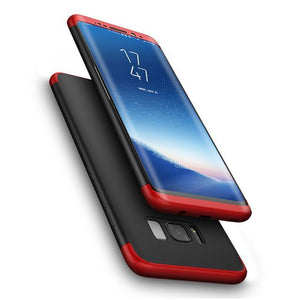 Fab-Case  Red Black / Galaxy S8 FLOVEME Full Protection Case For Samsung Galaxy S8/S8 Plus 360 protection cover