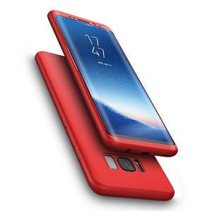 Fab-Case  Red / Galaxy S8 FLOVEME Full Protection Case For Samsung Galaxy S8/S8 Plus 360 protection cover