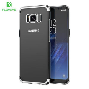 Fab-Case  silver / S8 FLOVEME Fashion Case For Samsung Galaxy S8/S8 Plus Case Light Luxury 3D Plating Mobile Phone Case Cover