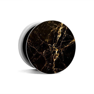 Fab Case Store Fab Pops Socket Fap Pops Magnetic Black Gold marble Socket For Smartphones And Tablets