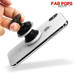 Fab Case Store Fab Pops Socket Fap Pops Magnetic PURPLE MARBLE For Smartphones And Tablets