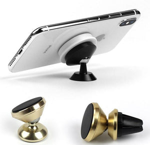 Fab Case Store Fab Pops Socket Fap Pops Magnetic White Gold marble Socket For Smartphones And Tablets