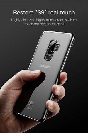 Fab Case Store galaxy s9 s9 plus clear case Black / S9 Baseus Ultra thin Clear Transparent Case For Samsung Galaxy S9 And S9 Plus