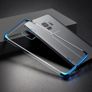 Fab Case Store galaxy s9 s9 plus clear case Blue / S9 Baseus Ultra thin Clear Transparent Case For Samsung Galaxy S9 And S9 Plus