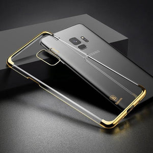 Fab Case Store galaxy s9 s9 plus clear case Gold / S9 Baseus Ultra thin Clear Transparent Case For Samsung Galaxy S9 And S9 Plus