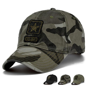 Fab Case Store US Army Baseball Cap US Army Camo Baseball Cap Men Camouflage Baseball Hat 100% Cotton